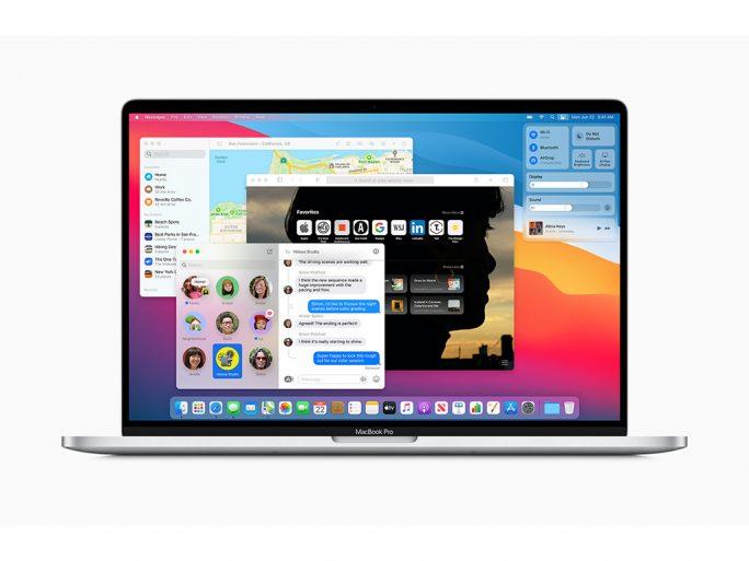 Apple macOS 11 Big Sur (Bild: Apple)