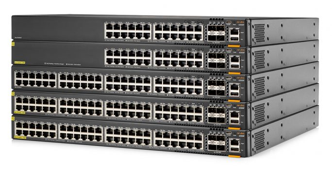 Die Aruba CX 6200 Switch-Serie bietet integrierte Analyse- und Automatisierungsfunktionen (Bild: Aruba).