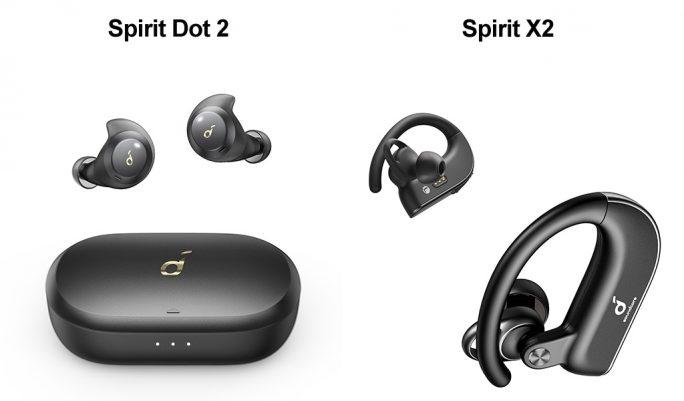 Soundcore Spirit Dot 2 und Spirit X2 (Bild: Anker)