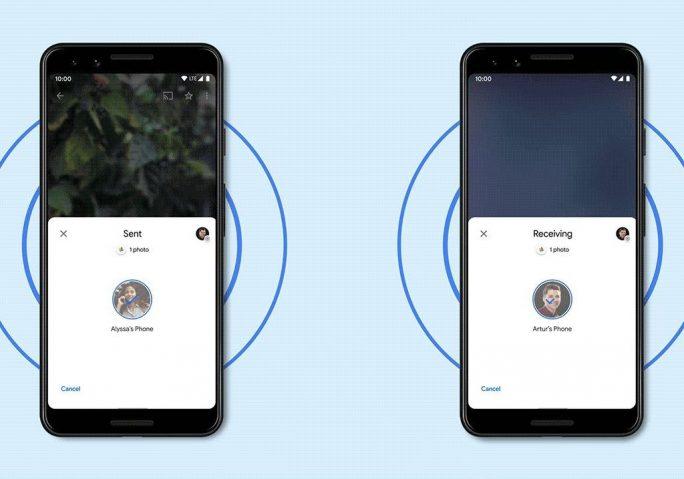 Nearby Share für Android (Bild: Google)