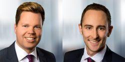 Benjamin Sirker (li) und Sebastian Schilling, die beiden Autoren dieses Beitrags, arbeiten als Berater bei der ISG Information Services Group (Bild: ISG).