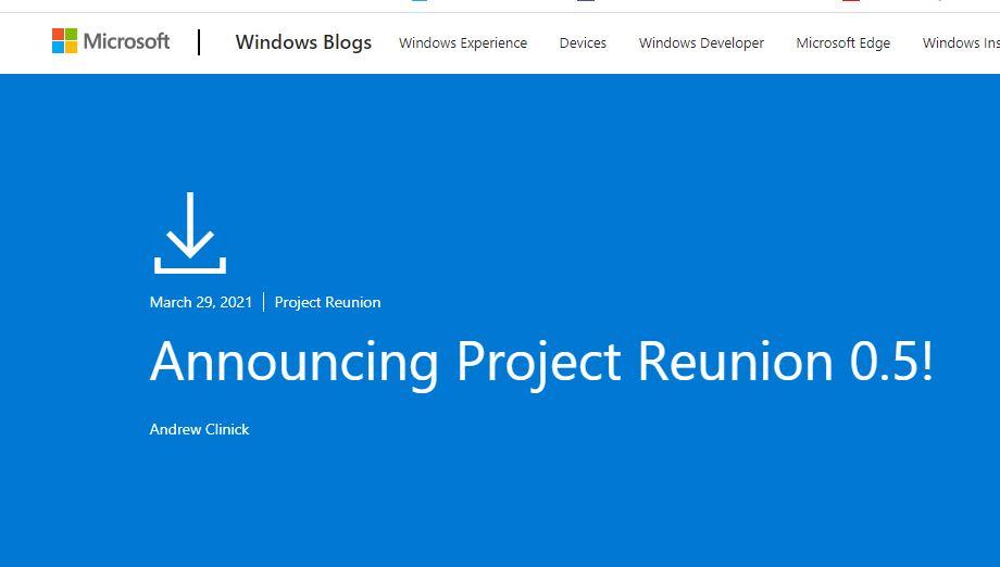 Microsoft-Project-Reunion-erreicht-Meilenstein