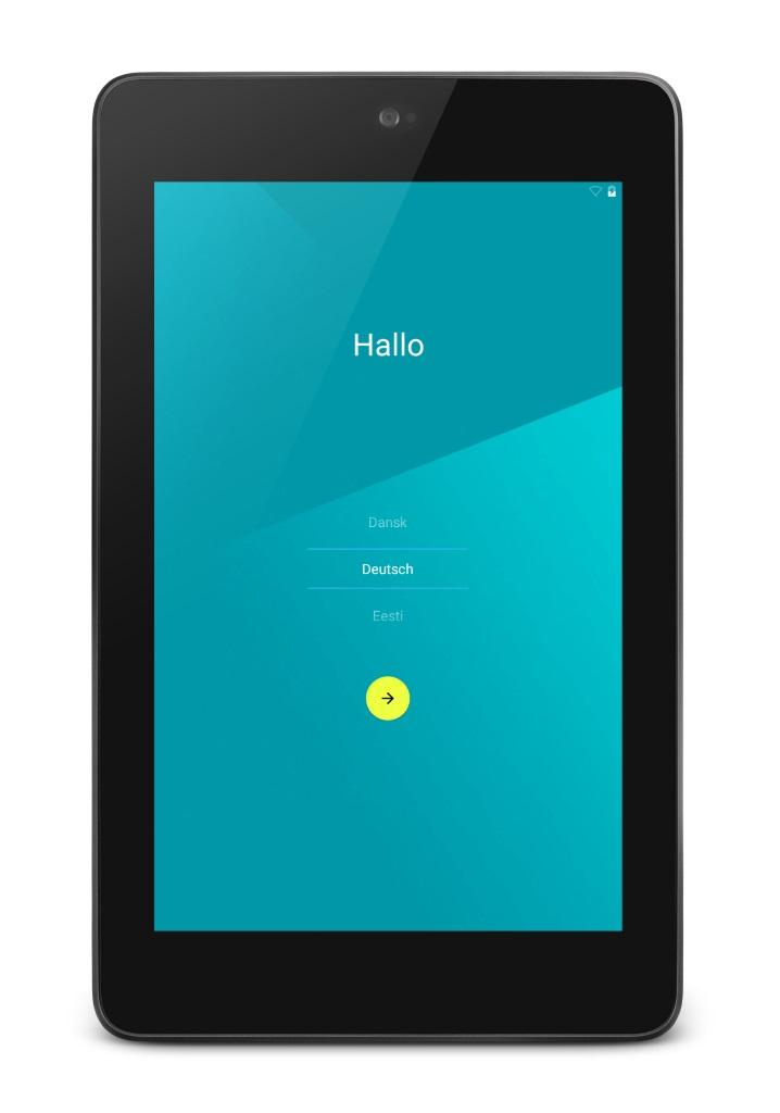 Nexus 7 Android 5.0 Lollipop Update