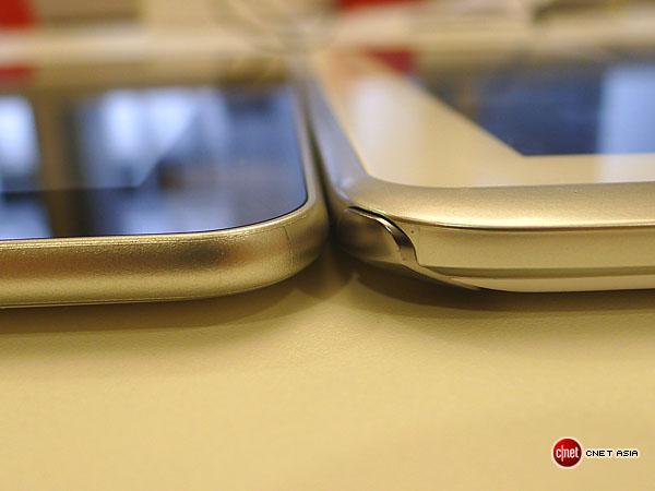 Das Galaxy Note 10.1 ist marginal dicker als das Galaxy Tab 10.1.