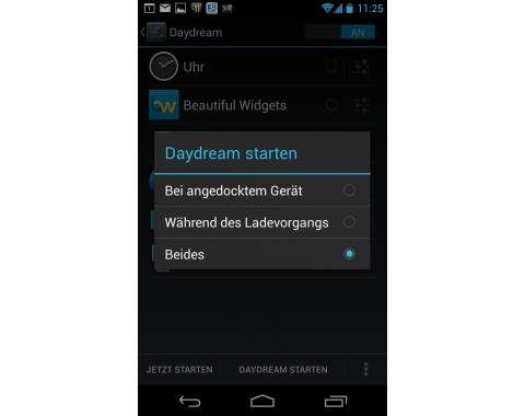 Google Currents: Konfiguration als Screensaver unter Android