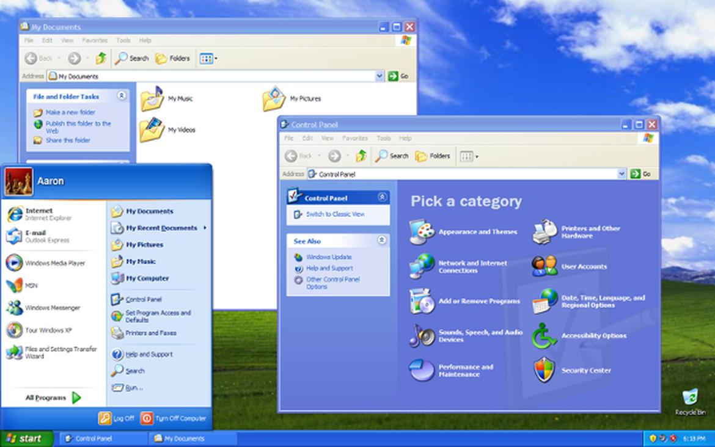 """Windows XP erschien am <a href=\""""http://www.zdnet.de/2098000/windows-xp-ab-heute-im-handel/\"""" target=\""""_blank\"""">25.10.2001</a>. Die Release to Manufacture-Version war bereits am <a href=\""""http://www.zdnet.de/date/2001/08/24/\"""" target=\""""_blank\"""">24. August</a> fertig. XP steht für eXPerience und war eines der erfolgreichste Windows-Betriebssystem. Es wurde von Microsoft bis zum 8. April 2014 unterstützt. Spezielle Versionen wie für Bankautomaten erhalten sogar noch <a href=\""""http://www.zdnet.de/88194135/windows-xp-registry-hack-ermoeglicht-updates-bis-2019-update/\"""" target=\""""_blank\"""">bis 2019</a> Aktualisierungen. XP brachte ein zweispaltiges Startmenü und präsentiert sich im Luna Visual Style."""