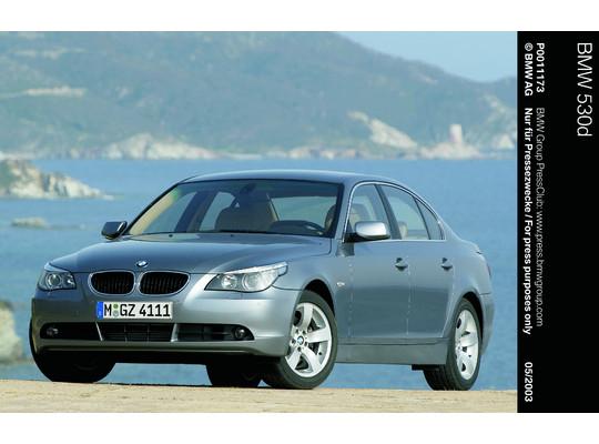 Das farbige Head-up-Display wurde erstmals 2003 in der BMW 5er-Reihe angeboten (Foto: BMW)