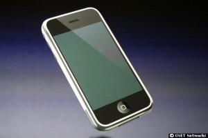 Das Iphone kommt ganz ohne Tastatur aus.