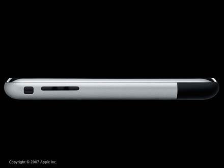 Schön flach: Das Iphone ist gerade mal 1,2 Zentimeter dick.