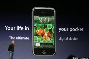 ...und bestätigte: Das Iphone soll kommen!