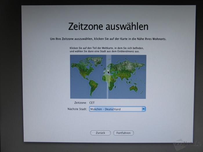 ... gelangt man ans Ende der Installation. Mac OS ist nun lauffähig. Anschließend wird über das Terminal die EFI-Partition startfähig gemacht, sodass ein Start von der Boot-CD entfällt.