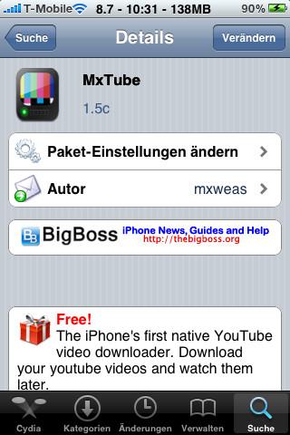 YouTube-Videos ansehen, ohne dass man online ist: Das ermöglicht MxTube.