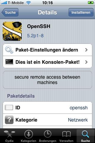 Profis installieren OpenSSH, um über einen entsprechenden Client wie WinSCP oder Cyberduck Zugriff auf Dateiebene zu erhalten.