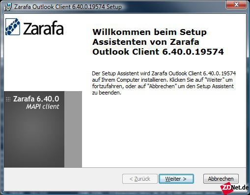 Die Server-Komponenten von Zarafa sind Open Source. Wer Outlook mit voller Funktionalität einsetzen will, benötigt einen MAPI-Connector, der allerdings nicht quelloffen ist. In der kostenlosen Community-Edition können maximal drei Benutzer mit Outlook arbeiten.