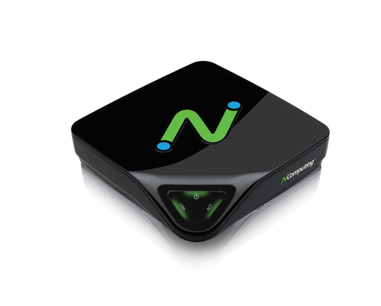 Der L300 von NComputing sowie sein Fujitsu-Bruder Futro C400 sind als Zero-Client konzipiert (Bild: NComputing).