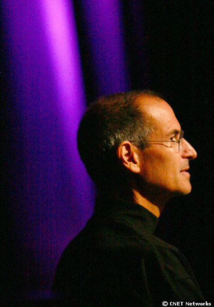 Das Bild zeigt Jobs auf der Worldwide Developers Conference 2008. Im Interview mit der Smithonian Institution beschrieb er das Silicon Valley als den schönsten Ort auf der Welt, um aufzuwachsen.