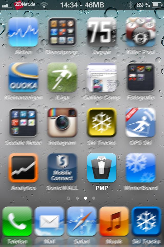 """Für die Installation des Tools ist ein Jailbreak Voraussetzung. Erst danach lassen sich Anwendungen aus dem Cydia Store auf das iOS-Gerät installieren. Ein Jailbreak ist beim iPhone 4S und dem iPad 2 mit dem Tool <a href=\""""http://www.zdnet.de/news/41559555/update-3-untethered-jailbreak-fuer-iphone-4s-und-ipad-2-erschienen-windows-tool-verfuegbar.htm\"""" target=\""""_blank\"""">absynthe möglich</a>. Für iPhone 4, 3GS und das iPad steht dafür das Programm <a href=\""""http://www.zdnet.de/galerie/41559056/untethered-jailbreak-fuer-ios-5-0-1-schritt-fuer-schritt-anleitung.htm\"""" target=\""""new\"""">redsn0w zur Verfügung</a>. Nach der Installation zeigt sich Protect my Privacy mit dem Icon PMP auf dem Home-Screen."""