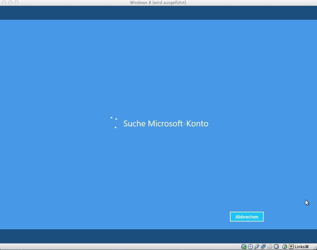 Hat man sein Windows-Live-Konto angeben, ...