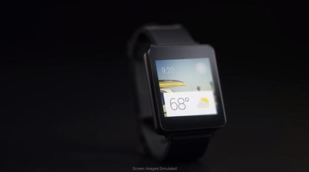 Die LG G Watch kommt mit traditionellem rechteckigem Dispplay, aber ähnlicher Benutzeroberfläche. Das ist auch die Idee hinter Android Wear: Geräte-übergreifend das gleiche Feeling.  Im Gegensatz zur Moto 360 ähnelt LGs G Watch von der Form her bereits erhältlichen Smartwatch-Modellen wie Samsungs Galaxy Gear. Es ist nach den Smartphones Nexus 4 und Nexus 5 sowie dem nur in den USA erhältlichen Tablet G Pad 8.3 Google Play Edition bereits das vierte Gerät, dass die Koreaner in enger Zusammenarbeit mit Google entwickeln (Foto: LG).