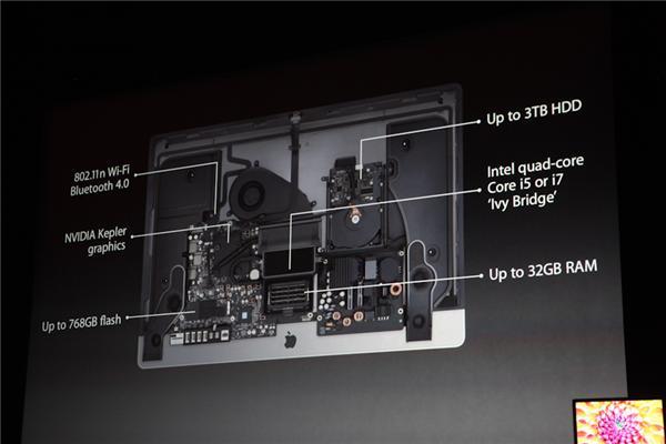 Im Inneren arbeitet wahlweise eine Quad-Core-CPU von Intel - Ivy Bridge Core i5 oder i7 unterstützt von bis zu 32 GByte RAM, bis zu 768 GByte Flashspeicher. Nvidia sorgt für die Grafik. Für die drahtlose Übertragung sind Bluetooth 4.0 und WLAN nach dem schnellen n-Standard an Bord (Foto: CNET).
