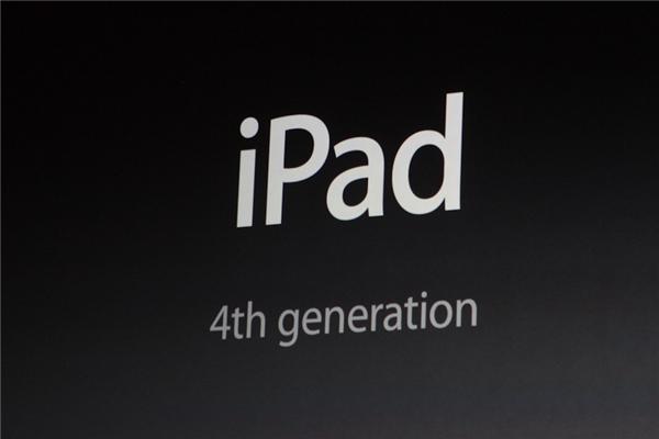 Beim iPad der vierten Generation ... (Foto: CNET).