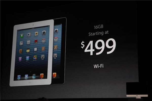 Die Wi-Fi-Version mit 16 GByte gibt es jetzt bereits ab 499 Euro, die 3G-Version ab 629 Euro (Foto: CNET).