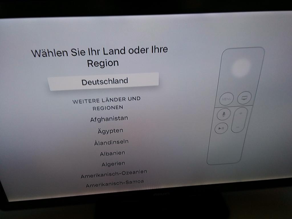 ... und Region ausgewählt hat, gibt es mit ...  <br> (Bild: ZDNet.de)