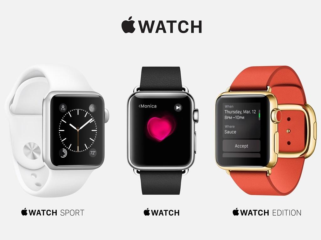 """Im Rahmen seines Events <a href=\""""http://www.zdnet.de/88221354/apple-watch-edition-ist-ab-11-000-euro-erhaeltlich/\"""" target=\""""_blank\"""">""""Spring Forward""""</a> in San Francisco hat Apple Preise sowie Verfügbarkeit seiner ersten Smartwatch Apple Watch kommuniziert. Das Einstiegsmodell <a href=\""""http://store.apple.com/de/buy-watch/apple-watch-sport\"""" rel=\""""nofollow\"""" target=\""""_blank\"""">Watch Sport kostet je nach Größe 399 respektive 449 Euro</a>. Gehobenere Ansprüche adressiert Apple mit dem Modell <a href=\""""http://store.apple.com/de/buy-watch/apple-watch\"""" target=\""""_blank\"""" rel=\""""nofollow\"""">Watch, das preislich zwischen 649 und 1249 Euro</a> liegt. Die Luxus-Variante <a href=\""""http://store.apple.com/de/buy-watch/apple-watch-edition\"""" target=\""""_blank\"""" rel=\""""nofollow\"""">Watch Edition beginnt bei 11.000 Euro</a>. Das teuerste Modell dieser Reihe kostet 18.000 Euro. Damit dürfte klar sein, dass Apple so etwas wie das Louis Vuitton der IT-Industrie geworden ist. Statt technische Daten stehen ganz klar modische Aspekte im Vordergrund. So gesehen ist es fast irrelevant, was die Apple Watch an technischen Funktionen zu bieten hat. Schließlich zeigen auch viele Rolex-Modelle nur die Zeit an. <br> Wer also an modischen Accessoires interessiert ist, kann ab dem 10. April die Modelle in den Apple Stores in Augenschein nehmen. Zu diesem Zeitpunkt steht auch eine Vorbestellmöglichkeit im Apple Online Store zur Verfügung. Der Verkauf beginnt zwei Wochen später.  <br> Um die Funktionen der Computeruhr zu nutzen, benötigen die Käufer außerdem mindestens ein iPhone 5, das mit Apples Mobilbetriebssystem iOS 8.2 läuft (Bild: Apple)."""