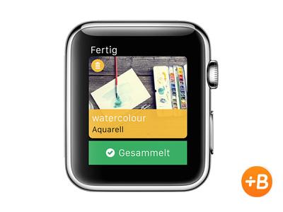 """<b>Babbel</b><br><br>Mit der Babbel-App kann man - egal wo man sich auf der Welt befindet - neue Sprachen lernen. Die Apple Watch zeigt mit der Babbel App neue Wörter, die zum aktuellen Standort passen. Befindet man sich in der Nähe eines Restaurants, lernt man Begriffe rund ums Essen, in der Nähe eines Flughafens beispielsweise Wörter wie \""""Flug\"""", \""""Abflug\"""" und \""""Gepäck\"""" (Bild: Apple)."""