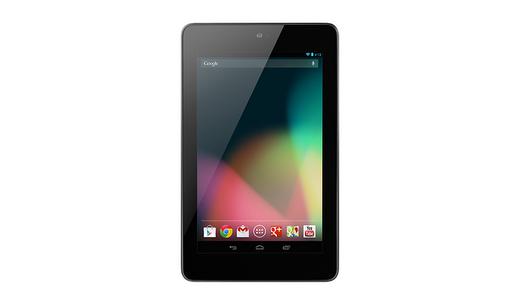Das bisher nur mit 8 oder 16 GByte Anwendungsspeicher erhältliche 7-Zoll-Tablet Nexus 7 wird künftig auch mit 32 GByte verfügbar sein (Foto: Google).