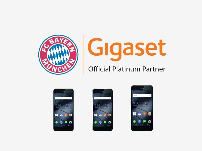 """Der aus der ehemaligen Siemens-Mobilsparte hervorgegangene Telefonhersteller Gigaset hat in Berlin seine ersten Smartphones vorgestellt. Die 5- und 5,5-Zoll großen Android-Modelle ME Pure, ME und ME Pro sollen ab Herbst zu Preisen von 349, 469 und 549 Euro weltweit verfügbar sein. <br> Fußball-Fans, vor allem die des FC Bayern, werden sie vermutlich häufiger zu sehen bekommen. Gigaset hat sich als <a href=\""""http://www.gigaset.com/at_de/cms/lp/fc-bayern-muenchen.html\"""">exklusiver Partner des FC Bayern München in den Bereichen Smartphones, Tablets und Wearables für drei Jahre eingekauft</a>. Damit dürften zukünftig Robben, Müller & Co ihre iPhones und Galaxys zur Seite legen und die in Deutschland designten und in China gefertigten Smartphones nutzen.<br> Dank einer hochwertigen Verarbeitung und interessanten technischen Features könnte die Chance bestehen, dass die Fußballer die Nutzung der Geräte nicht nur als lästige Pflichterfüllung gegenüber einem Sponsor betrachten, sondern die Gigaset-Geräte persönlich schätzen lernen. <br> Auf den ersten Blick wird man die Öffnung für die Hörmuschel an den Geräten vermissen. Dies wird durch die mit Surface Conduction bezeichneten Technologie ermöglicht. Audiosignale werden mittels einer speziellen Vibrationstechnologie über das Displayglas direkt ins Ohr transportiert."""