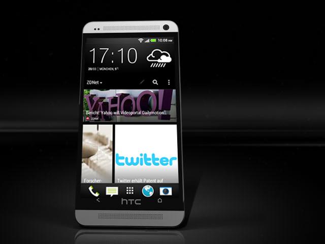 Das HTC One bietet mit BlinkFeed eine Flipboard-ähnliche Darstellung von Inhalten auf dem Home Screen. Die Schlagzeilen-Übersicht lässt sich einfach von unten nach oben durchblättern. Klickt man auf einen interessanten Beitrag, wird dieser auf dem Home-Screen angezeigt. Der Zeit angemessen lässt sich dieser natürlich teilen. Als Quellen für die dargestellten Inhalte dienen beispielsweise Konten bei sozialen Netzwerken wie Facebook, Flickr, LinkedIn und Twitter. Artikel des News-Aggregators Mobile Republic stehen ebenfalls zur Verfügung. Darin findet man auch einige deutschsprachige Angebote wie DPA und Stern. Auch die von NetMediaEurope herausgegebenen Magazine ZDNet.de und Gizmodo.de sind Teil des Angebots. Bei Bedarf zeigt BlinkFeed auch anstehende Termine an. Wie die Konfiguration genau aussieht, zeigen die folgenden Bilder. Wer auf das Feature verzichten will, muss sich, da man es nicht ausschalten kann, mit einem Trick behelfen. Einfach einen anderen Bildschirm als Home-Screen auswählen und schon bleibt man größtenteils von BlinkFeed verschont.