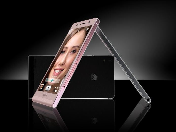 Huawei Ascend P6: Das Modell in Rosa soll es ab August geben.