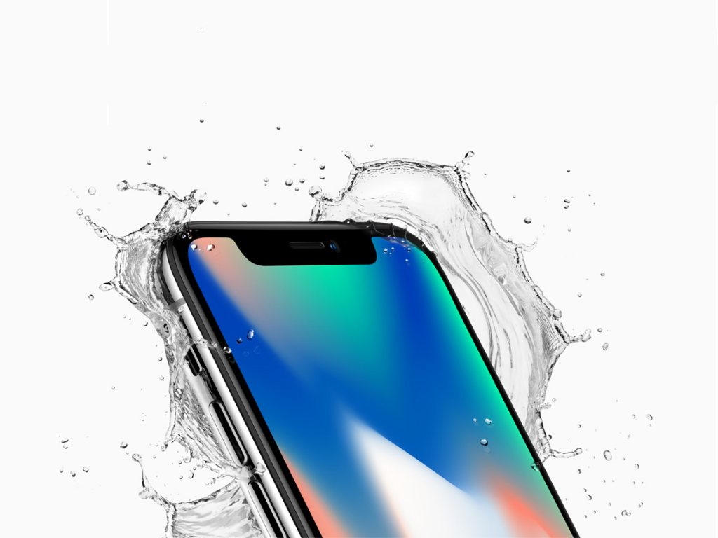 Wie schon die iPhone-7-Modelle sind auch die 2017er-iPhones gegen das Eindringen von Staub und Spritzwasser nach IP67 geschützt.