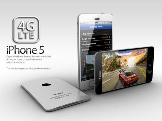 """So sieht das neue iPhone nicht aus. Viele Fans würden sich ein verändertes Design allerdings wünschen. Das Bild stammt aus dem letzten Jahr und basiert auf einer Idee eines <a href=\""""http://forums.macrumors.com/showthread.php?t=1209763\"""" title=\""""iPhone 5\"""">MacRumors-Lesers</a>."""