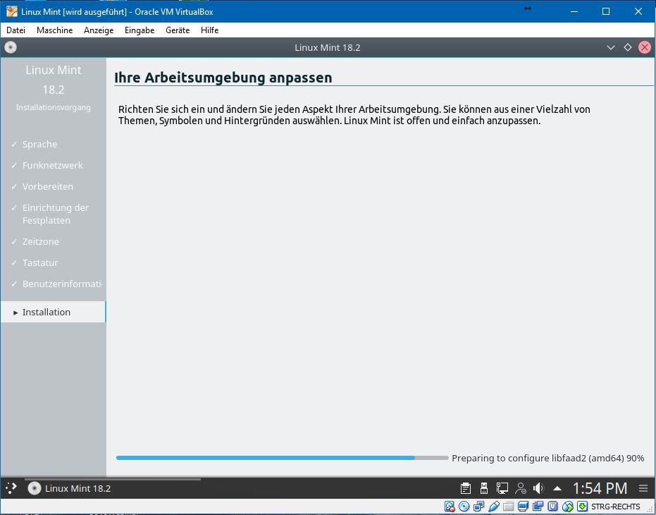 Die Oberfläche von Linux Mint lässt sich persönlichen Bedürfnisse anpassen.