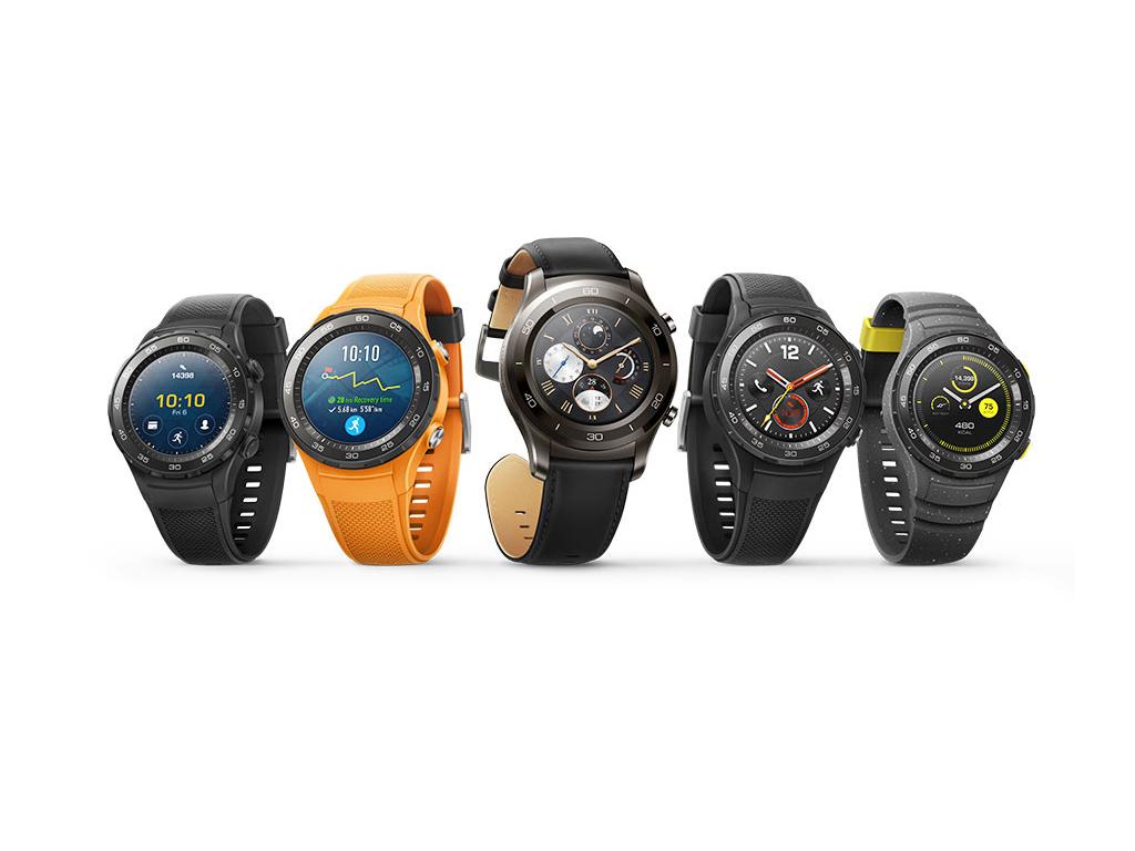 """<b>MWC: Huawei Watch 2</b><br> Die Smartwatch Watch 2 wurde laut Hersteller speziell für Fitness-Fans entwickelt. Sie vereint die Konnektivität eines Smartphones, praktische Apps einer Premium-Smartwatch und die Funktionen eines anspruchsvollen Fitness Trackers. Die Uhr ist sowohl in einer 4G- als auch in einer Bluetooth-Variante erhältlich. Sie läuft mit Android Wear 2.0 und ist sowohl mit Android als auch mit iOS kompatibel.<br> Mit der 4G-Version können Nutzer beim Sporttraining ihr Smartphone zu Hause lassen und dennoch mit den wichtigsten Funktionen verbunden bleiben. Nutzer können mit der Smartwatch Anrufe tätigen, Nachrichten schicken und auf Apps zugreifen. Sie wird von einem Qualcomm Snapdragon MSM8909W angetrieben und kommt mit GPS-Chip. Die Huawei Watch 2 wird später auch in einer Classic-Version mit einem Metallgehäuse und Lederarmband zu haben sein. Sowohl die Classic-Version und alle anderen Bluetooth-Varianten der Smartwatch werden von einem Qualcomm Snapdragon APQ8DD9W angetrieben. <br> Weitere Infos: <a href=\""""http://www.zdnet.de/88288714/mwc-huawei-stellt-smartphones-p10-und-p10-plus-sowie-die-watch-2-vor/\"""" target=\""""_blank\"""">Huawei Watch 2</a>"""