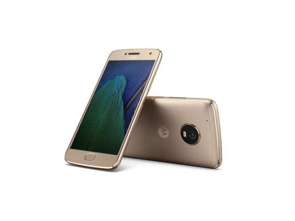 """<b>Lenovo Moto G5 Plus</b><br> Das Moto G5 Plus verfügt über eine 12 Megapixel-Kamera mit Dual-Pixel-Autofokus. Damit sollen Motive besonders schnell fixiert sein. Gegenüber dem Vorgänger gelingt dies bis zu 60 Prozent schneller. Mit der lichtstarken f/1.7-Blende und größeren Pixeln sollen gute Aufnahmen auch bei schlechten Lichtverhältnissen gelingen.<br> Das Moto G5 Plus wird von einem 2 GHz schnellen Snapdragon 625 angetrieben. Das Gerät verfügt über 3 GByte RAM und 32 GByte internem Speicher. Das 5,2-Zoll große Display bietet eine Auflösung von 1920 x 1080 Pixel, was einer Pixeldichte von 424 ppi entspricht. Die 5. Generation der Moto G Familie wird mit aktuellen Android 7.0 Nougat ausgeliefert und soll in Kürze für 299 Euro erhältlich sein. <br> Weitere Infos: <a href=\""""http://www.zdnet.de/88288794/mwc-lenovo-praesentiert-smartphones-motorola-moto-g5-und-moto-g5-plus/\"""" target=\""""_blank\"""">Lenovo Moto G5 Plus</a>"""