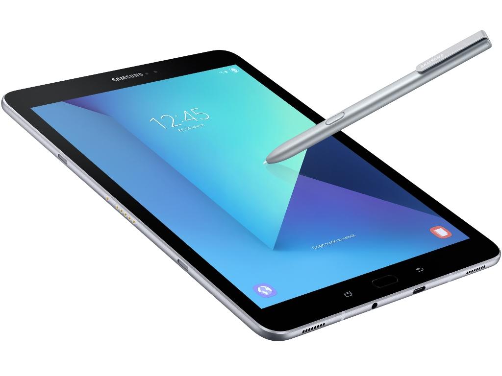 """<b>Samsung Galaxy S3 mit S-Pen</b><br> Das Galaxy Tab S3 positioniert Samsung als """"Entertainment""""-Gerät. Sein 9,7-Zoll-AMOLED-Display löst 2048 mal 1536 Bildpunkte auf. Dank Android 7.0 Nougat unterstützt es zudem die Grafik-Schnittstelle Vulkan. Spieler profitieren auch vom bis zu 2,15 GHz schnellen Snapgragon-820-Prozessor von Qualcomm, dem Samsung 4 GByte RAM zur Seite stellt.<br> er interne Speicher ist 32 GByte groß und kann per MicroSD-Karte um bis zu 256 MByte erweitert werden. Über den USB-Typ-C-Anschluss, der USB 3.1 unterstützt, kann der 6000 mAh große Akku zudem besonders schnell geladen werden. Ein Datenaustausch kann aber auch über LTE Cat.6, WLAN 802.11ac und Bluetooth 4.2 erfolgen. Navigationslösungen sollen die Position des Tablets per GPS, Glonass, Beidou oder Galileo bestimmen.<br> Das Galaxy Tab S3 ist laut Samsung-Website <a href=\""""http://www.samsung.com/de/tablets/galaxy-tab-s3/\"""" target=\""""_blank\"""">ab 9. März vorbestellbar</a>. Einen Preis hat Samsung noch nicht genannt.<br> Weitere Infos: <a href=\""""http://www.zdnet.de/88288638/samsung-erweitert-tablet-portfolio-um-galaxy-tab-s3-und-galaxy-book/\"""" target=\""""_blank\"""">Samsung Galaxy S3 mit S-Pen</a>"""
