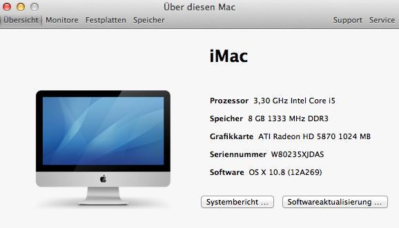 Die wichtigsten Komponenten wie Netzwerk, USB, Sound und 3D-Grafik funktionieren einwandfrei.<br> Das System arbeitet zuverlässig und liefert eine Leistung, die man von den verwendeten Komponenten erwarten kann. Auf den ersten Blick ist also kein Unterschied zu einem Mac zu erkennen. Erst wenn man das Gerät in den Ruhemodus befördern will, merkt man, dass es eben doch kein Original-Mac ist: Der Rechner stürzt ab. Mit bestimmten Hardwarekomponenten soll aber auch diese Funktion zur Verfügung stehen.