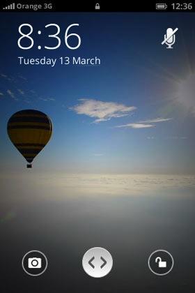 Der Home-Screen bei Firefox OS (Bild: NetMediaEurope).