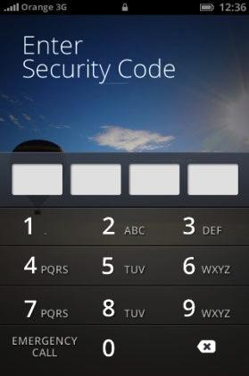 Die PIN-Code-Eingabe bei Firefox OS (Bild: NetMediaEurope).