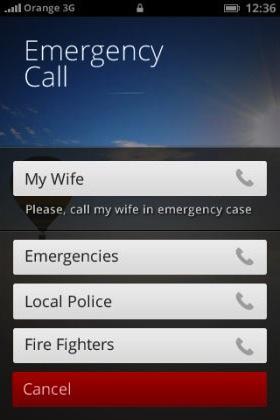 Die wichtigsten Daten und Rufnummern für Notfälle auf einen Blick (Bild: NetMediaEurope).
