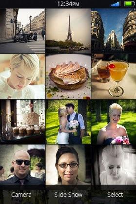 Die Bildergalerie unter Firefox OS (Bild: NetMediaEurope).