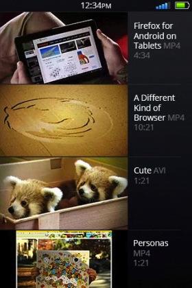 Videoaufnahmen unter Firefox OS (Bild: NetMediaEurope).