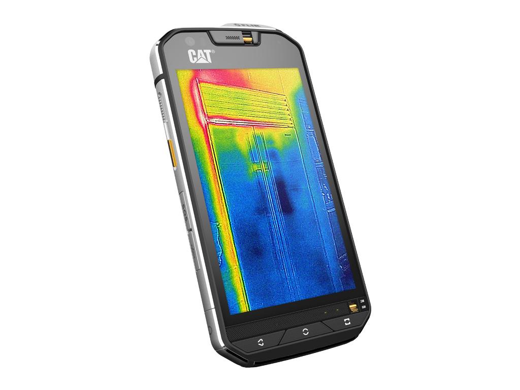 """Der auf Ruggedized-Smartphones spezialisierte Hersteller Cat Phones hat mit dem <a href=\""""http://www.zdnet.de/88260539/cat-phones-kuendigt-ruggedized-smartphone-mit-waermebildkamera-an/\"""" target=\""""_blank\"""">S60</a> das erste Modell mit eingebauter Wärmebildkamera gezeigt. Es bietet auch eine """"normale"""" 13 Megapixel-Hauptkamera mit Zweifach-Blitz. Angetrieben wird es von Qualcomms Octa-Core-Chip Snapdragon 610. Der greift wiederum auf 3 GByte RAM zu. Der interne Speicher fasst 32 GByte. Das Cat S60 soll """"im Laufe des Jahres"""" zum Preis von 649 Euro auf den Markt kommen."""