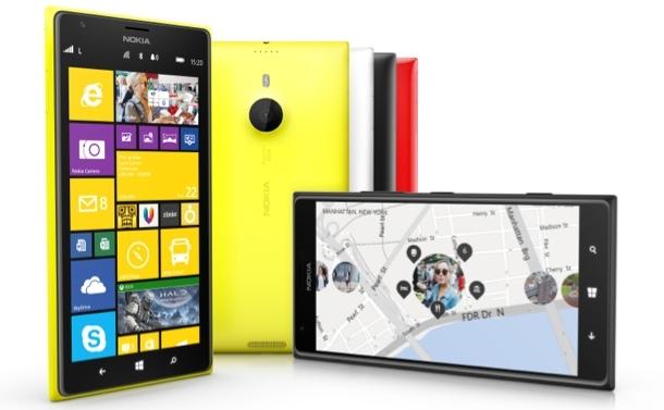 Das Lumia 1520 misst 16,3 mal 8,5 Zentimeter. Trotz der Größe fällt es mit einer Stärke von 8,7 Millimetern überraschend schlank aus. Gewicht: 209 Gramm (Foto: Nokia)