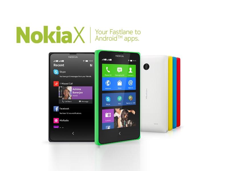 Erwartungsgemäß hat Nokia auf dem Mobile World Congress Android-basierte Smartphonemodelle vorgestellt: Nokia X, X+ und XL arbeiten mit einer von Nokia angepassten Android-Version. Genauso wie Amazon bei seinen Kindle-Modellen, bietet Nokia keinen Zugriff auf den Google Play Store. Allerdings können Android-Apps von Dritt-Hersteller-App-Stores installiert werden. Sofern Nokia eine App nicht anbietet, wird auf den russischen App Store Yandex verlinkt. Mit den vorgestellten Modellen richtet sich Nokia an Anwender in austrebenden Märkten. Die Preise für die Android-Smartphones liegen zwischen 89 und 109 Euro. Beim Blick auf die Ausstattungsmerkmale wird schnell klar, dass die Android-Smartphones in Mitteleuropa wahrscheinlich kaum Käufer finden werden. So beträgt beispielsweise die Auflösung der Displays nur 800 x 480 Pixel, was besonders beim 5-Zoll-Modell für eine unscharfe Darstellung sorgen sollte. Der Arbeitsspeicher ist im Einstiegsmodell mit 512 MByte recht knapp bemessen. Das X+ und das XL bieten mit 768 MByte nur wenig mehr. Der geringe Speicherplatz von nur 4 GByte  kann immerhin über einen integrierten MicroSD-Card-Slot um 32 GByte erweitert werden. Die Kameras von X und X+ bieten eine Auflösung von 3 Megepixel. Das 5-Zoll-Modell schießt Fotos mit 5 Megepixel.