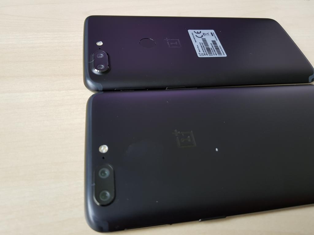 Die Rückseite des OnePlus 5T unterscheidet sich kaum von der des Vorgängers.