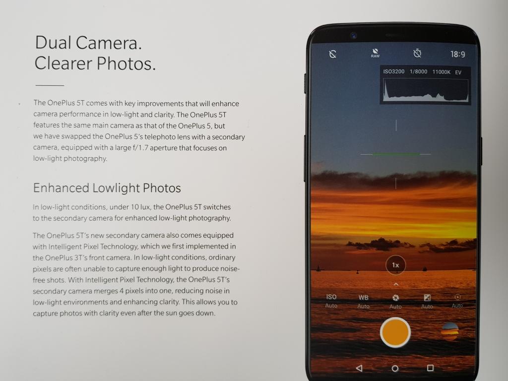 In der Beschreibung der Dualkamera ist von einer sogenannten Intelligent Pixel Technology die Rede. Sie sorgt dafür, dass bei wenig Licht die zweite Kamera vier Pixel aufnimmt und diese zu einem verarbeitet. Dadurch soll das Bildrauschen bei Aufnahmen in dunklen Umgebungen reduziert werden.